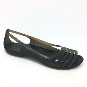 Crocs Sandals Casual Comfortable Black Size 10